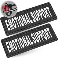 Industrial Puppy Emotional Support Dog Patches, 2 count