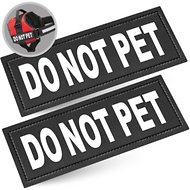 Industrial Puppy Do Not Pet Dog Patches, 2 count
