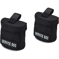 Industrial Puppy Service Dog Harness Saddle Bag, 2 count
