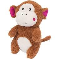 ZippyPaws Cheeky Chumz Plush Dog Toy, Monkey