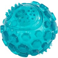 ZippyPaws ZippyTuff Squeaker Ball Dog Toy, Teal, Large