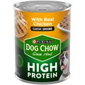 Dog Chow High Protein Chicken Classic Ground Canned Dog Food
