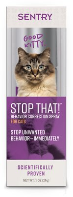 6. Sentry Stop That! Noise & Pheromone Cat Spray