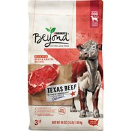 Purina Beyond Grain-Free Texas Beef & Lentil Recipe Dry Dog Food, 3-lb bag