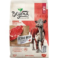 Purina Beyond Grain-Free High Protein Texas Beef & Lentil Recipe Dry Dog Food, 13-lb bag