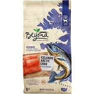 Purina Beyond Grain-Free High Protein Icelandic Arctic Char & Lentil Recipe Dry Cat Food, 5-lb bag