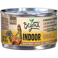 Purina Beyond Indoor Grain-Free Chicken Recipe Canned Cat Food, 3-oz, case of 12