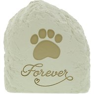 AngelStar Forever Paw Print Rock Pet Urn, 54 cubic inches