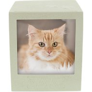 AngelStar Paw Print Polaroid Pet Urn, 202 cubic inches