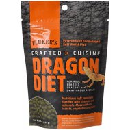 Fluker's Crafted Cuisine Adult Bearded Dragon Diet Reptile Food, 6.5-oz bag