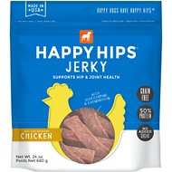 Happy Hips Jerky Chicken Recipe Grain-Free Dog Treats, 24-oz bag