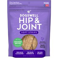 Dogswell Soft Strips Hip & Joint Chicken Recipe Grain-Free Dog Treats, 12-oz bag