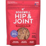 Dogswell Soft Strips Hip & Joint Duck Recipe Grain-Free Dog Treats, 10-oz bag