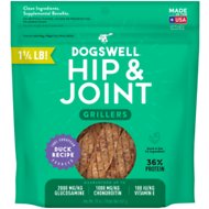 Dogswell Grillers Hip & Joint Duck Recipe Grain-Free Dog Treats