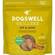 Dogswell Grillers Hip & Joint Chicken Recipe Grain-Free Dog Treats, 24-oz bag