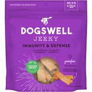 Dogswell Jerky Immunity & Defense Chicken Recipe Grain-Free Dog Treats, 24-oz bag