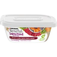Purina Beneful Superfood Blend With Beef & Salmon in Sauce Wet Dog Food, 9-oz tub, case of 8