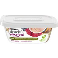 Purina Beneful Superfood Blend With Lamb & Trout in Sauce Wet Dog Food, 9-oz tub, case of 8