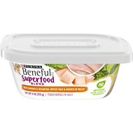 Purina Beneful Superfood Blend With Chicken & Oceanfish in Sauce Wet Dog Food, 9-oz tub, case of 8