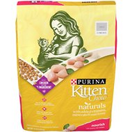 Kitten Chow Naturals Dry Cat Food, 13-lb bag