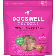 Dogswell Tenders Immunity & Defense Chicken Recipe Grain-Free Dog Treats, 15-oz bag