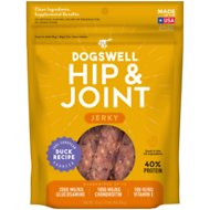 Dogswell Jerky Hip & Joint Duck Recipe Grain-Free Dog Treats, 10-oz bag
