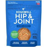 Dogswell Jerky Minis Hip & Joint Chicken Recipe Grain-Free Dog Treats, 4-oz bag