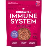 Dogswell Jerky Minis Immunity & Defense Duck Recipe Grain-Free Dog Treats, 4-oz bag