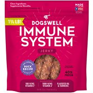 Dogswell Jerky Immunity & Defense Duck Recipe Grain-Free Dog Treats, 20-oz bag