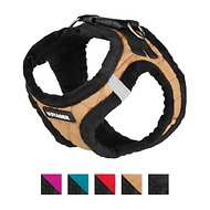 Best Pet Supplies Voyager Padded Fleece Dog Harness, Beige , X-Small