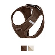 Best Pet Supplies Voyager Plush Suede Dog Harness, Chocolate, X-Large