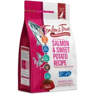 Tender & True Salmon & Sweet Potato Recipe Grain-Free Dry Dog Food, 4-lb bag