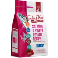 Tender & True Salmon & Sweet Potato Recipe Grain-Free Dry Cat Food, 3-lb bag
