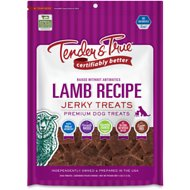 Tender & True Antibiotic-Free Lamb Dog Jerky Treat , 4-oz bag