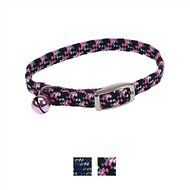Li'l Pals Elasticized Safety Kitten Collar, Neon Pink