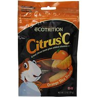 eCOTRITION Citrus C Orange Slice Guinea Pig Treats, 3.3-oz bag
