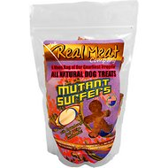 The Real Meat Company Mutant Surfers Variety Cookies Dog Treats, 16-oz bag