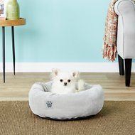 Precision Pet Products SnooZZy Donut Dog Bed, 17-in