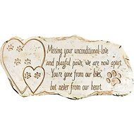 Pawprints Remembered Pet Memorial Stone Marker