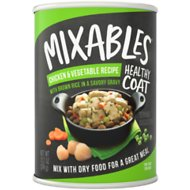 Mixables Healthy Coat Chicken & Vegetable Recipe with Brown Rice Canned Dog Food, 13.2-oz, case of 6