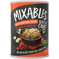 Mixables Healthy Coat Beef & Vegetable Recipe with Barley Canned Dog Food, 13.2-oz, case of 6