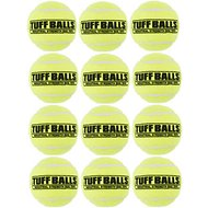 PetSport USA Tuff Balls Multipack Tennis Balls Dog Toy, 2.5-in, 12 count