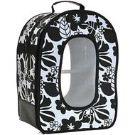 A&E Cage Company Soft Sided Travel Bird Carrier, Large, Black