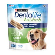 DentaLife ActivFresh Daily Oral Care Large Dog Treats, 60 count