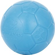 Jolly Pets Jolly Soccer Ball Dog Toy, 8-in, Ocean Blue