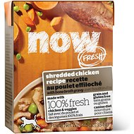 Now Fresh Grain-Free Shredded Chicken Recipe Wet Dog Food, 12.5-oz, case of 12