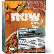 Now Fresh Grain-Free Shredded Lamb Recipe Wet Dog Food, 12.5-oz, case of 12