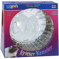 Lee's Aquarium & Pets Kritter Krawler Small Animal Exercise Ball, Clear, Standard