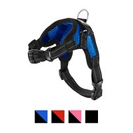 Copatchy No-Pull Reflective Adjustable Dog Harness, Blue, X-Small