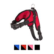 Copatchy No-Pull Reflective Adjustable Dog Harness, Red, Medium